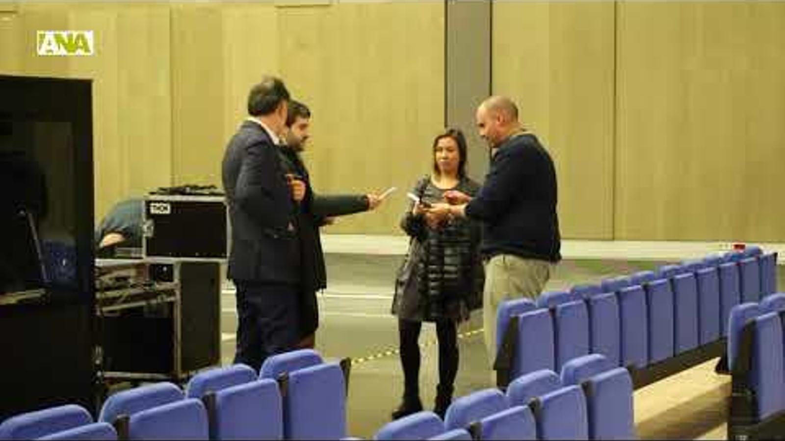 Conferència d'Antonio Pampliega 'Els ulls de la guerra'