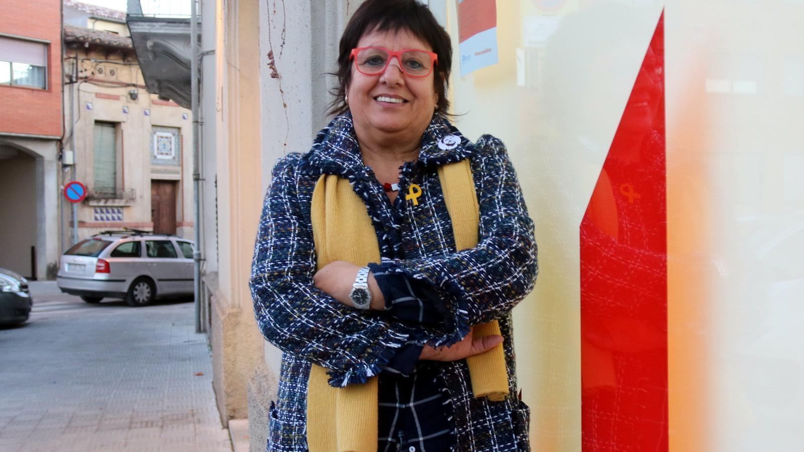 La cap de llista d'ERC per Girona al 21-D, Dolors Bassa