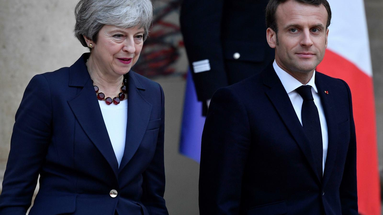 May insisteix que l'acord amb la UE  encara permet que el Regne Unit marxi abans de les europees
