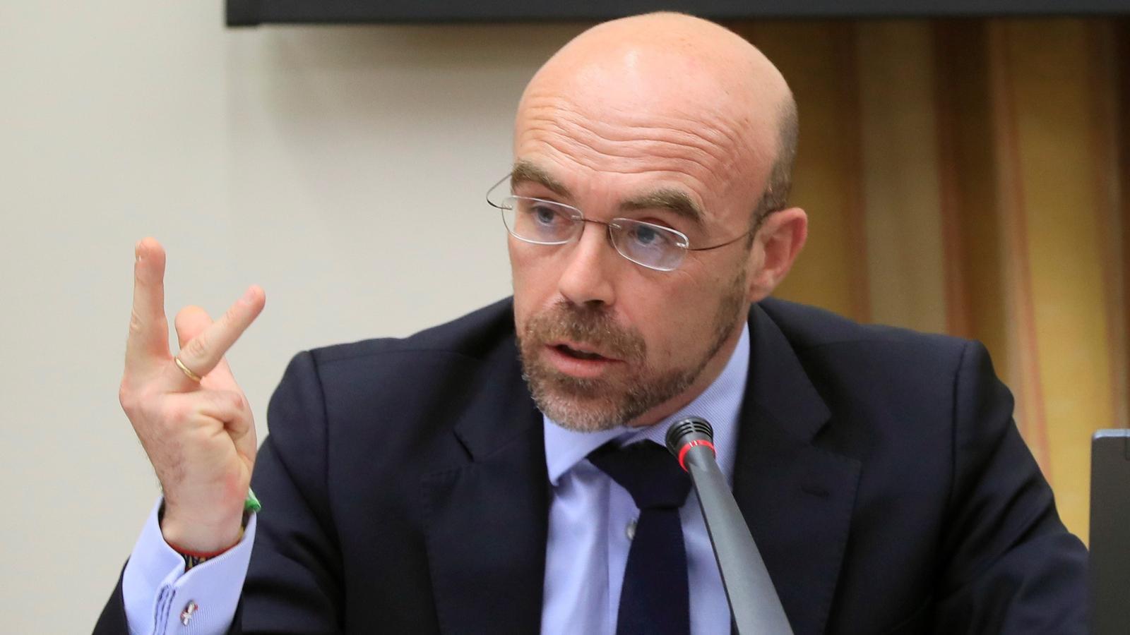 L'eurodiputat de Vox i vicepresident d'Acció Política, Jorge Buxadé.