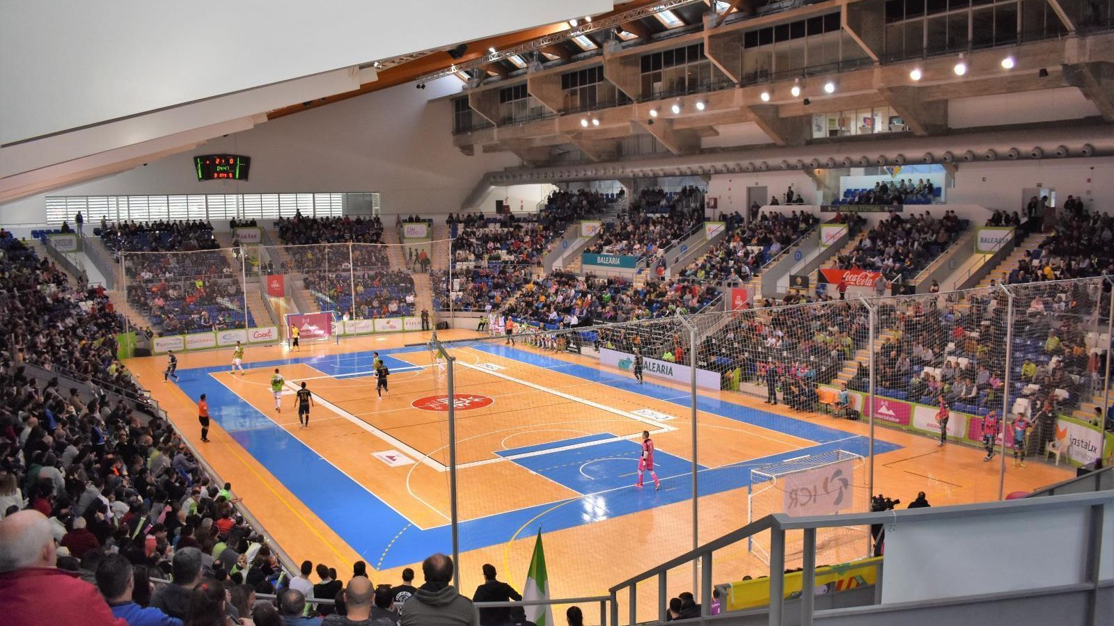 Imatge general del Palau d'Esports de Son Moix