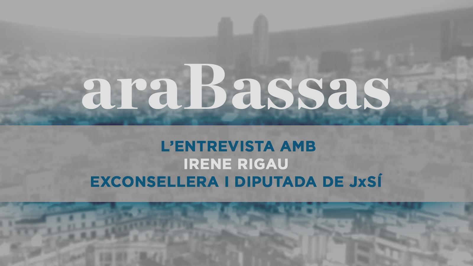 Entrevista d'Antoni Bassas a Irene Rigau
