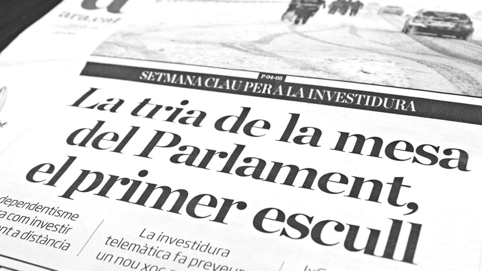 L'anàlisi d'Antoni Bassas: 'Recuperar el Govern'