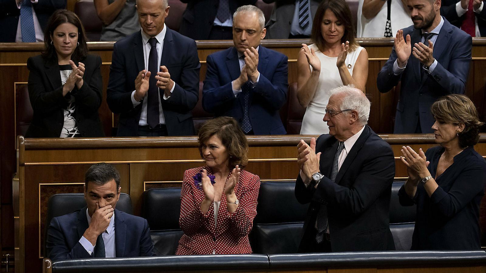 Sánchez fracassa i extrema  el distanciament amb Iglesias