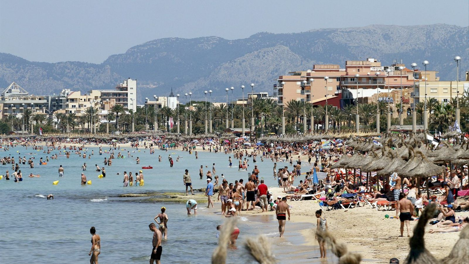 La Platja de Palma podria ser l'objectiu de la inversió en reconversió de zones turístiques.