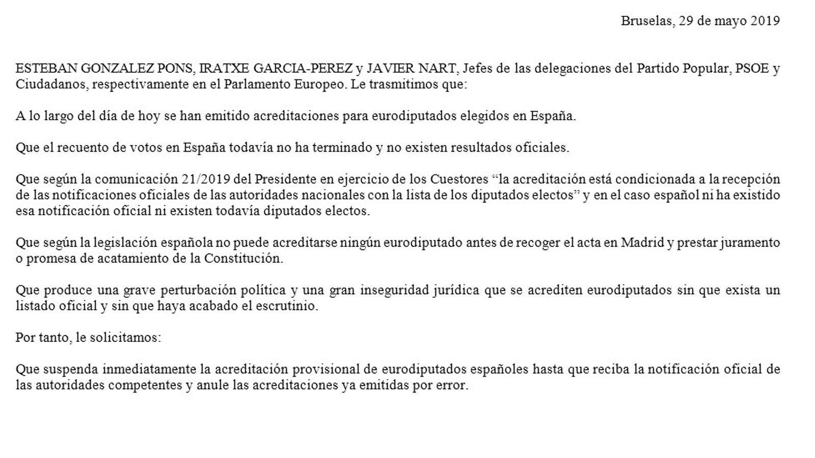 L'Eurocambra impedeix l'entrada de Puigdemont i Comín fins que no tinguin l'acta d'eurodiputat