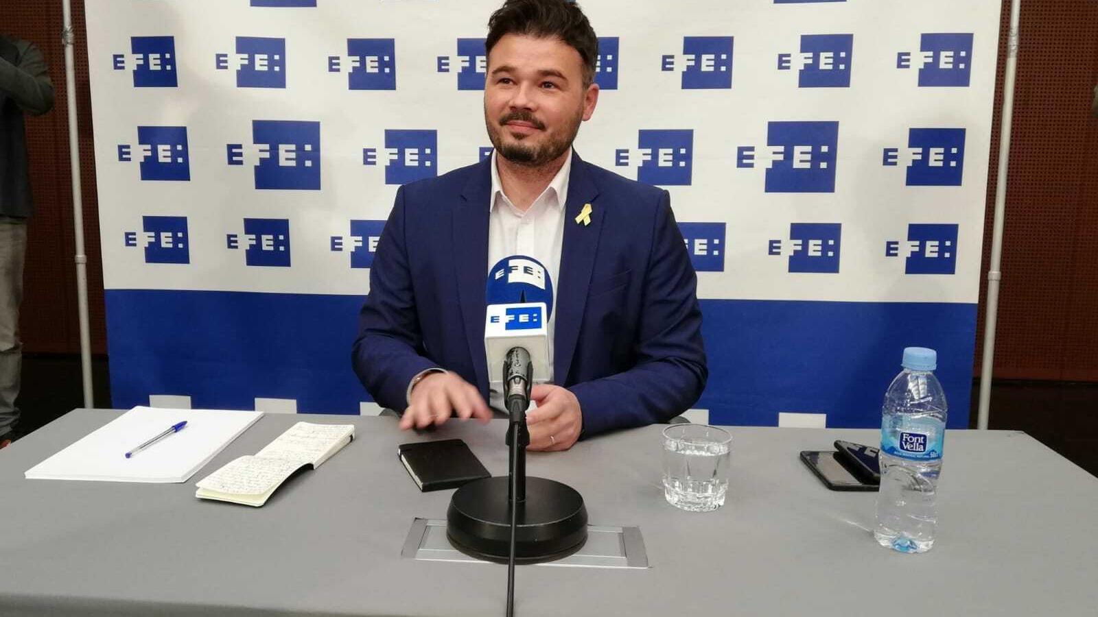 ERC presentarà al Congrés una llei per fixar la llibertat dels presos polítics i la fi de les causes judicials