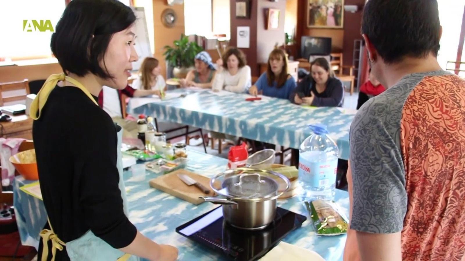 El taller de cuina de Keiko Fujita