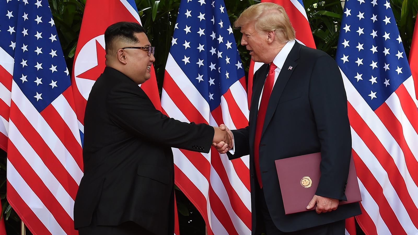 Trump anuncia uns acords amb Kim Jong-un que no estan per escrit