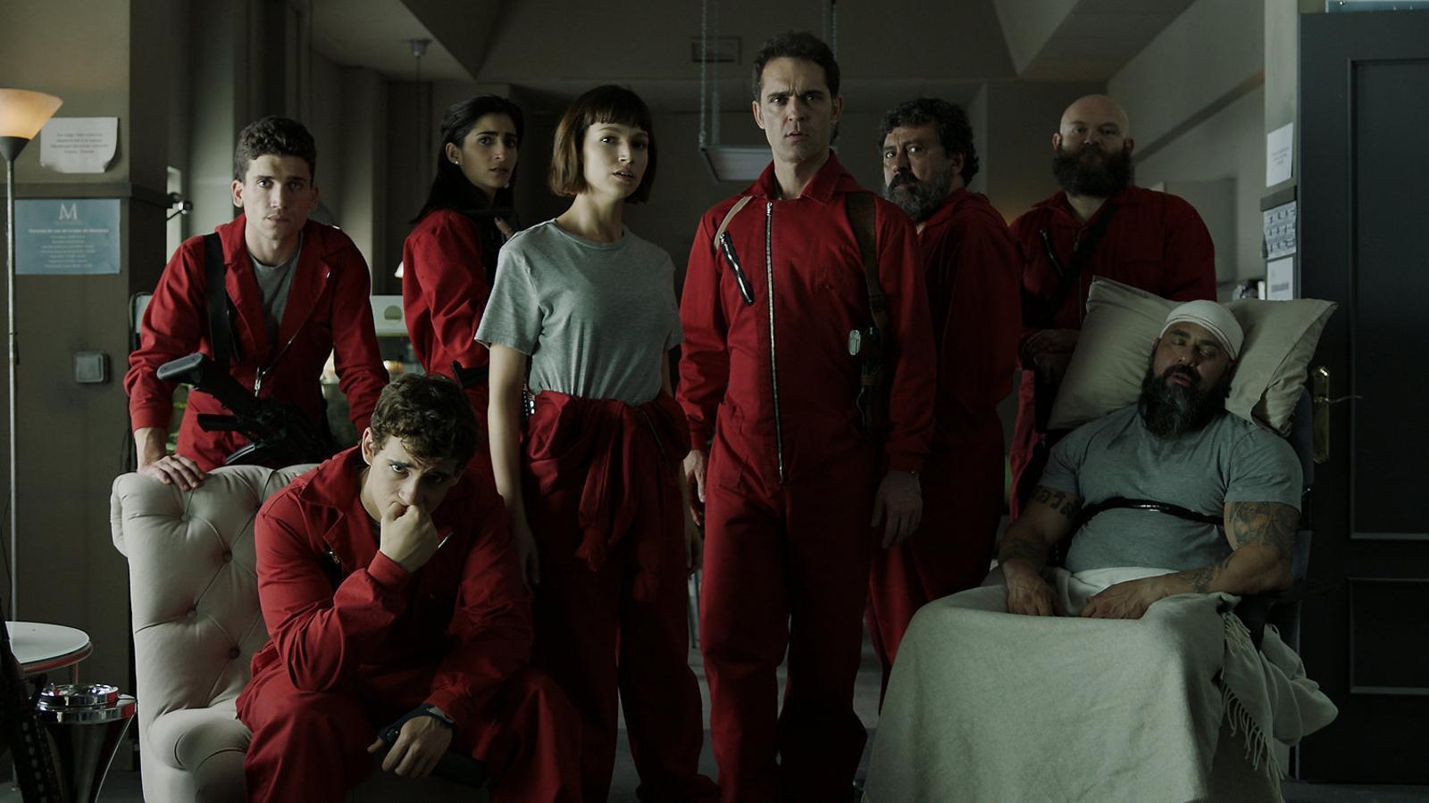 Netflix dona llum verda a una tercera entrega de 'La casa de papel'