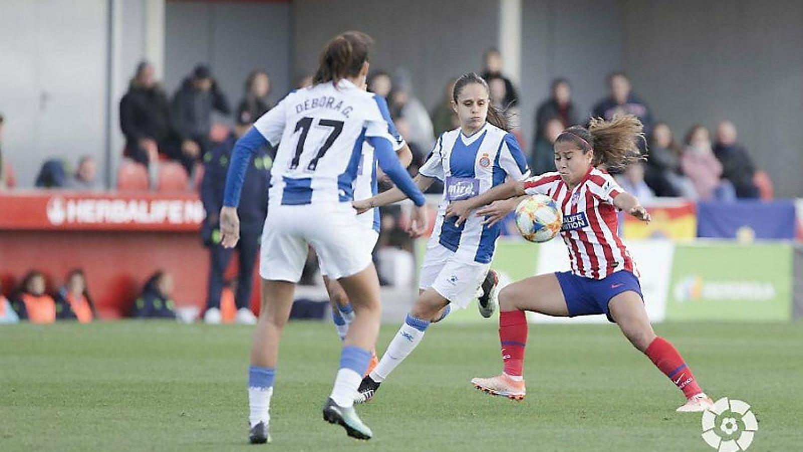 L'Espanyol no pot contra el nou líder de la Lliga femenina