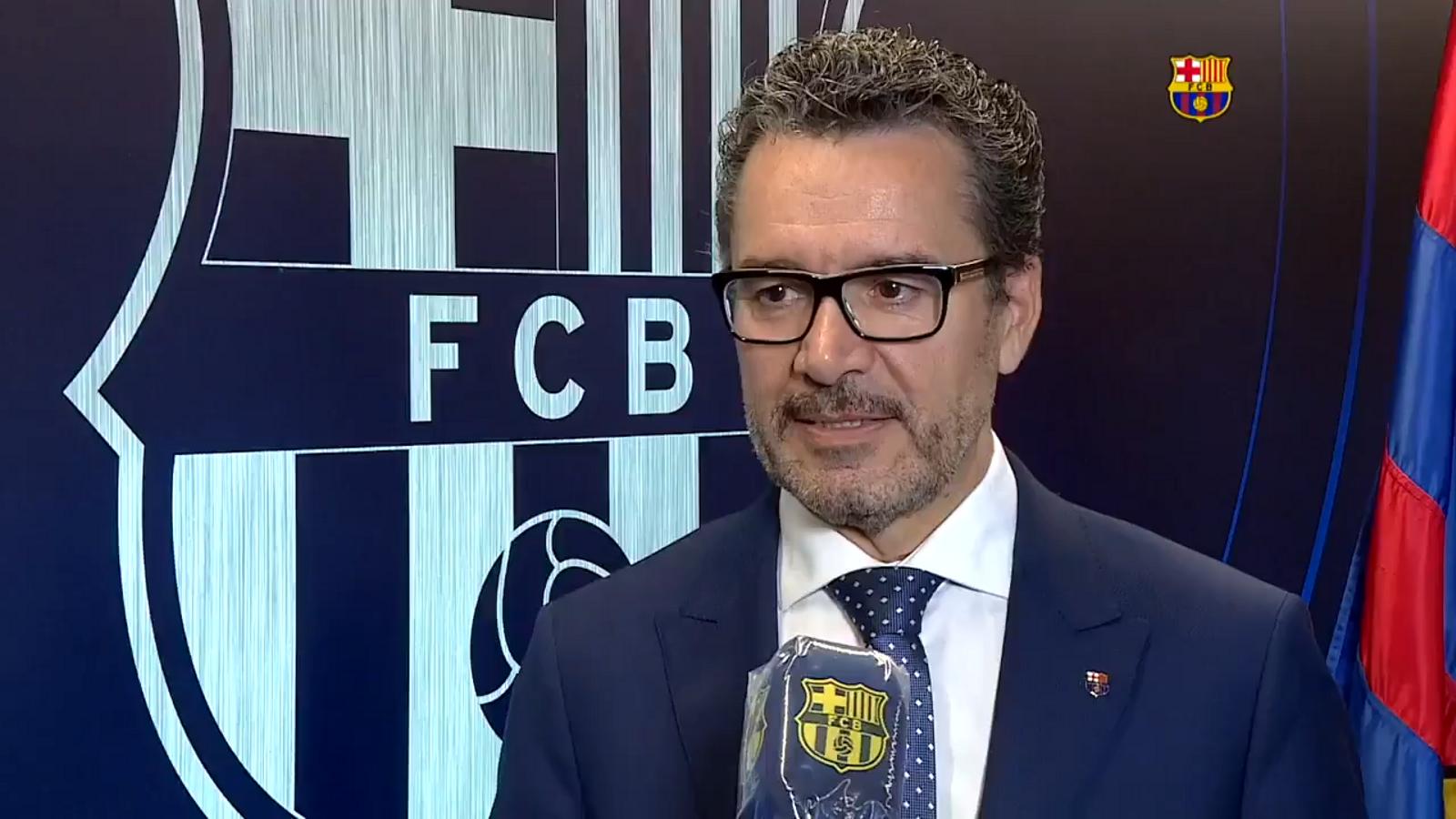 """Josep Vives: """"Volem expressar la nostra satisfacció"""""""
