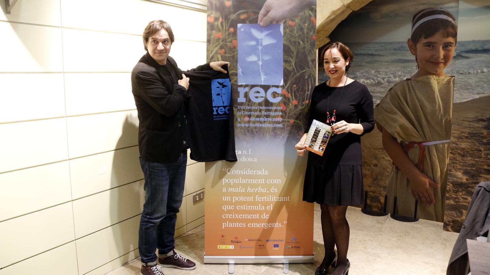 Presentació del Festival REC a Tarragona