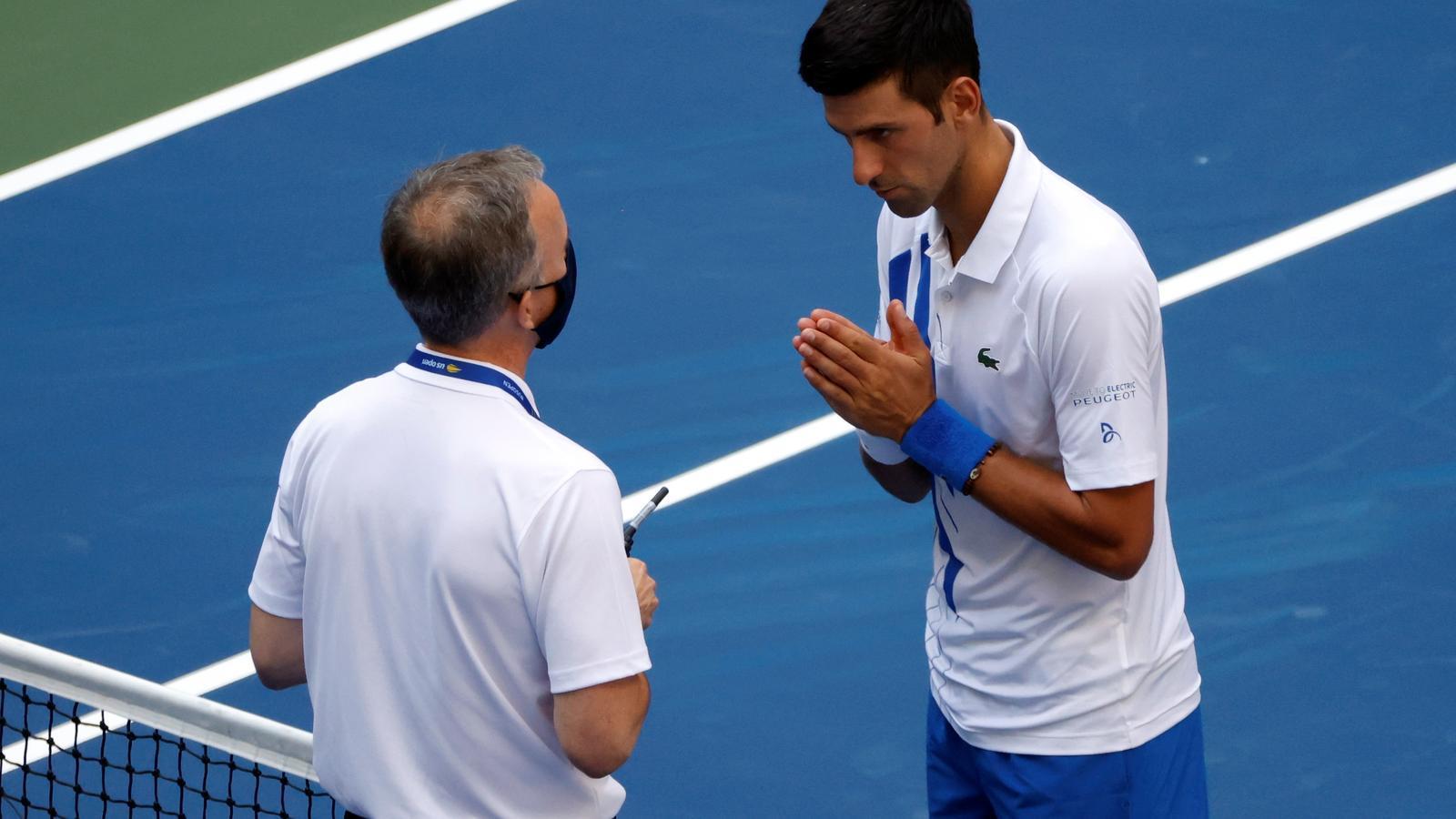 Djokovic, desqualificat del US Open per decisió tècnica