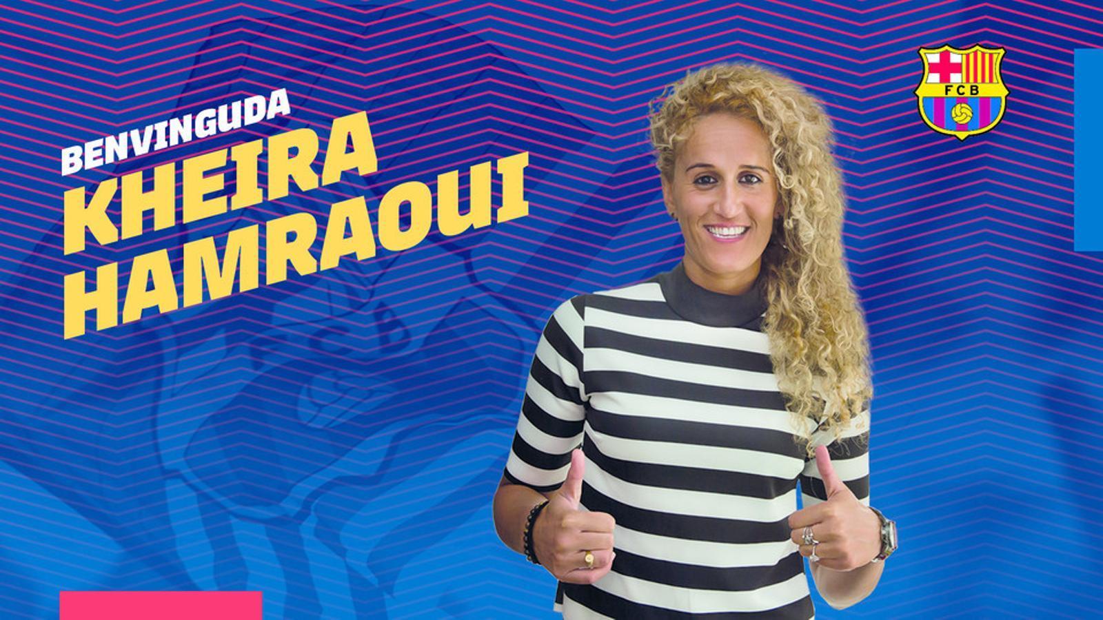 El Barça es reforça amb Hamraoui