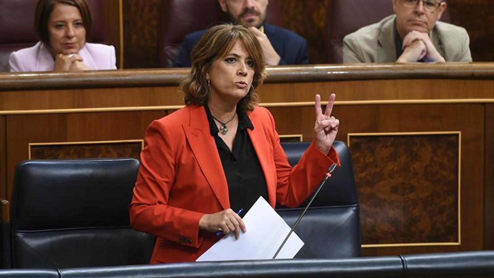 Delgado, la segona socialista que passa de ministra a fiscal general