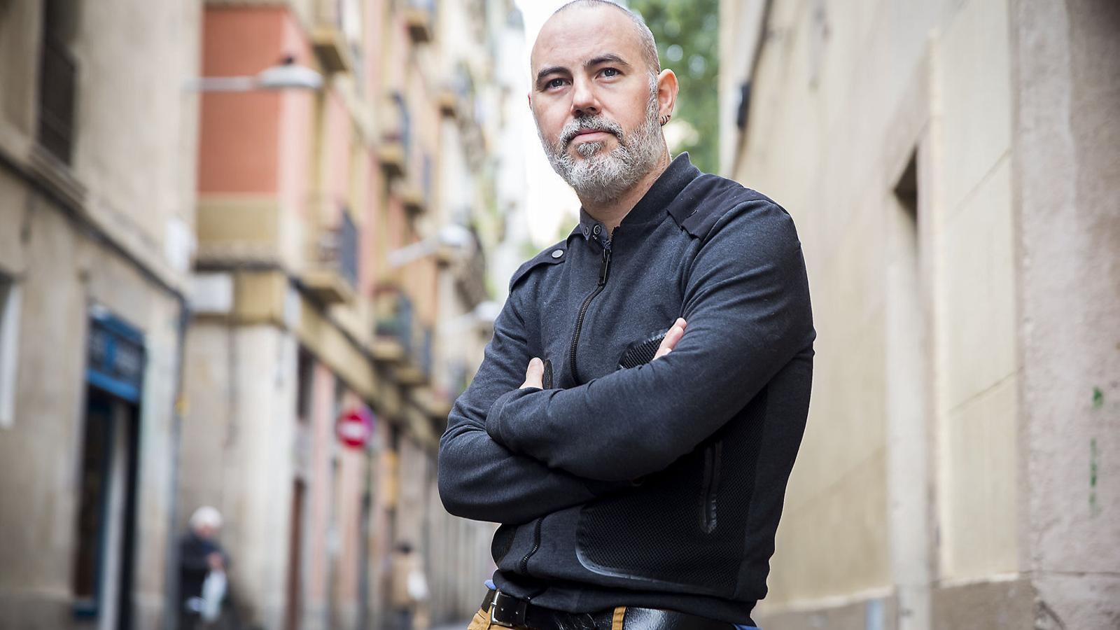 """Eloi Badia: """"Aixecarem una part de l'asfalt de Barcelona per posar-hi gespa"""""""