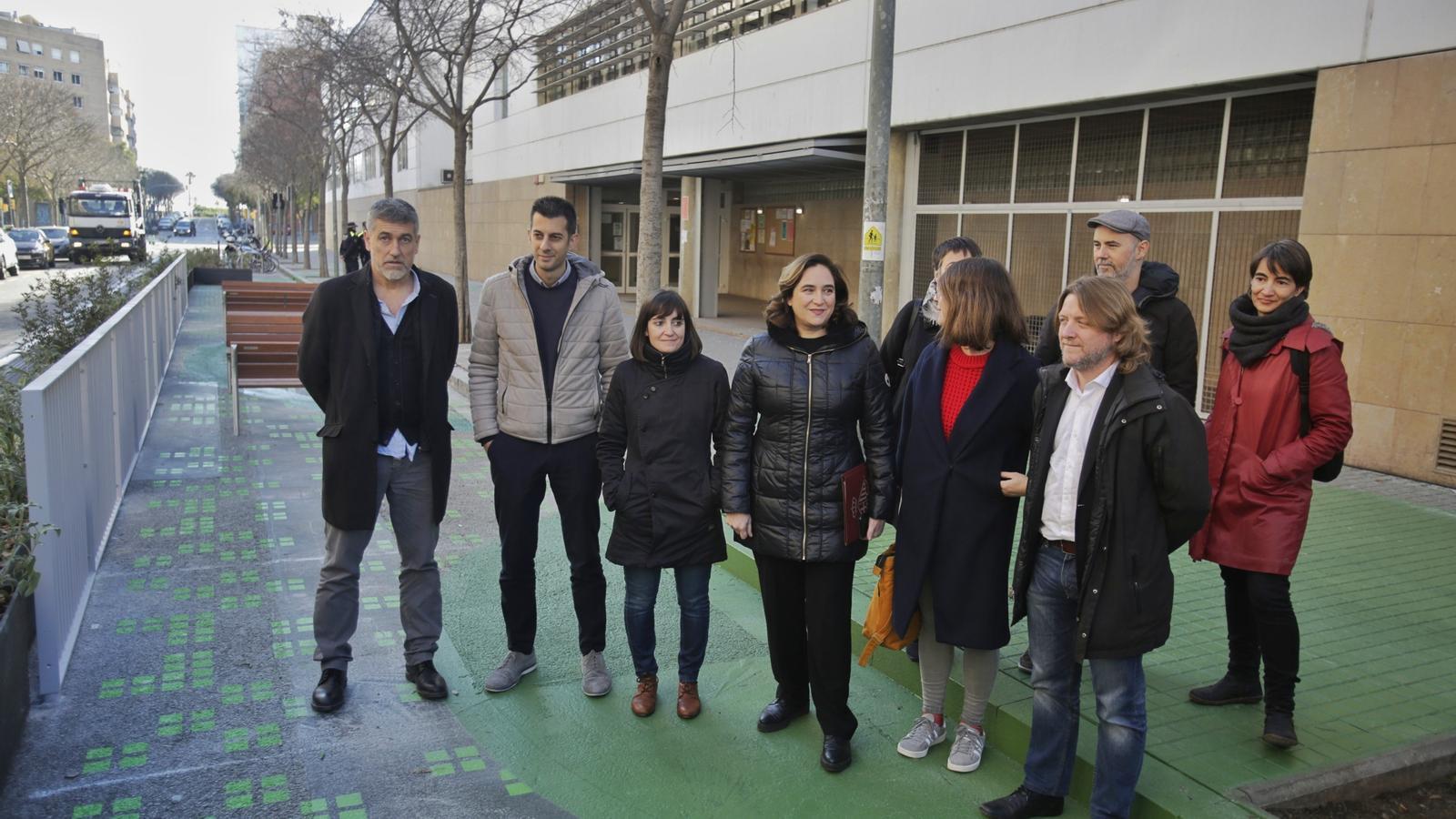 'Places' i velocitat limitada davant les escoles de Barcelona
