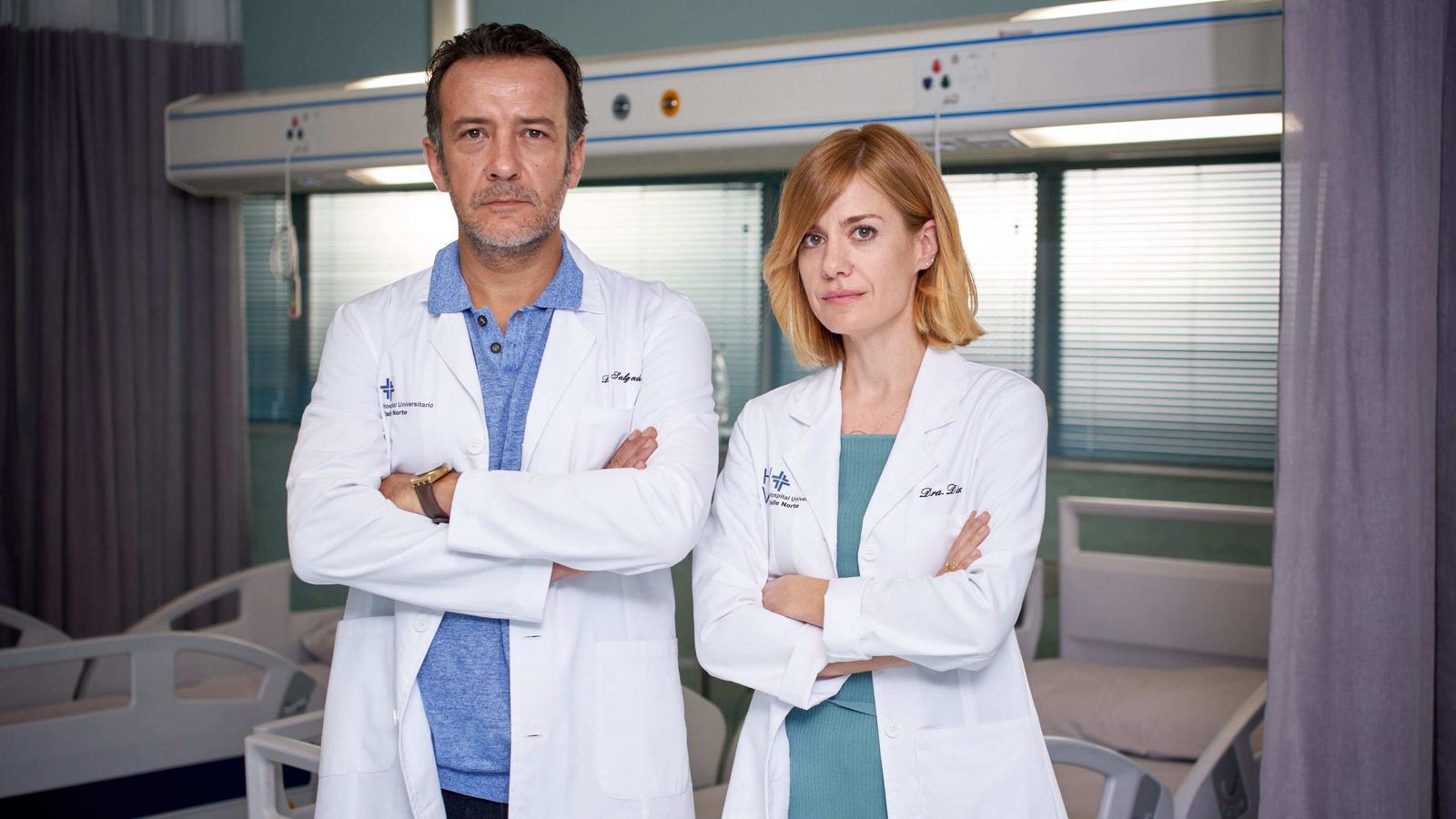 TVE roda 'Hospital Valle Norte', amb Alexandra Jiménez