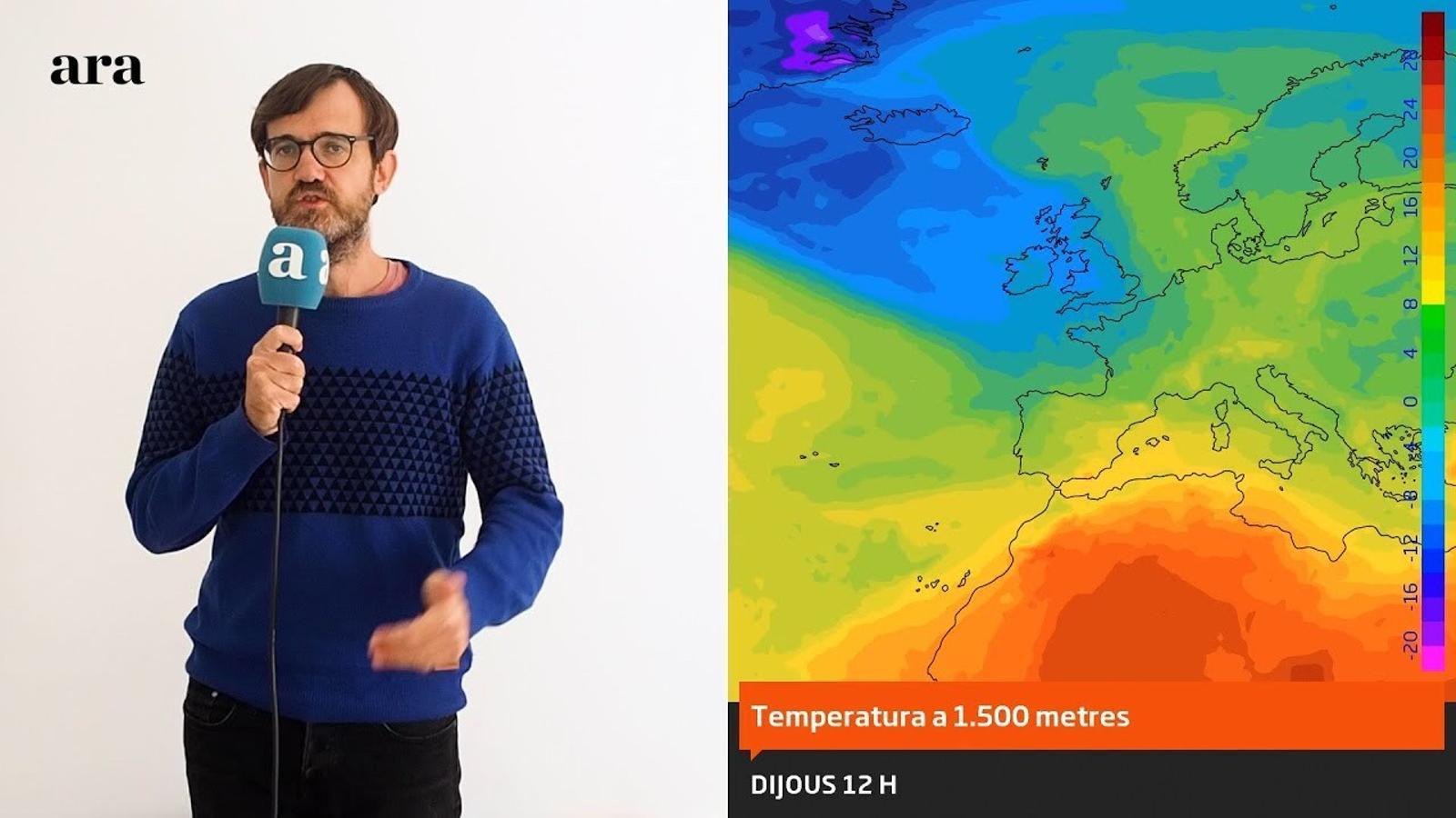 La méteo: la calor revifarà a curt termini i per poc temps