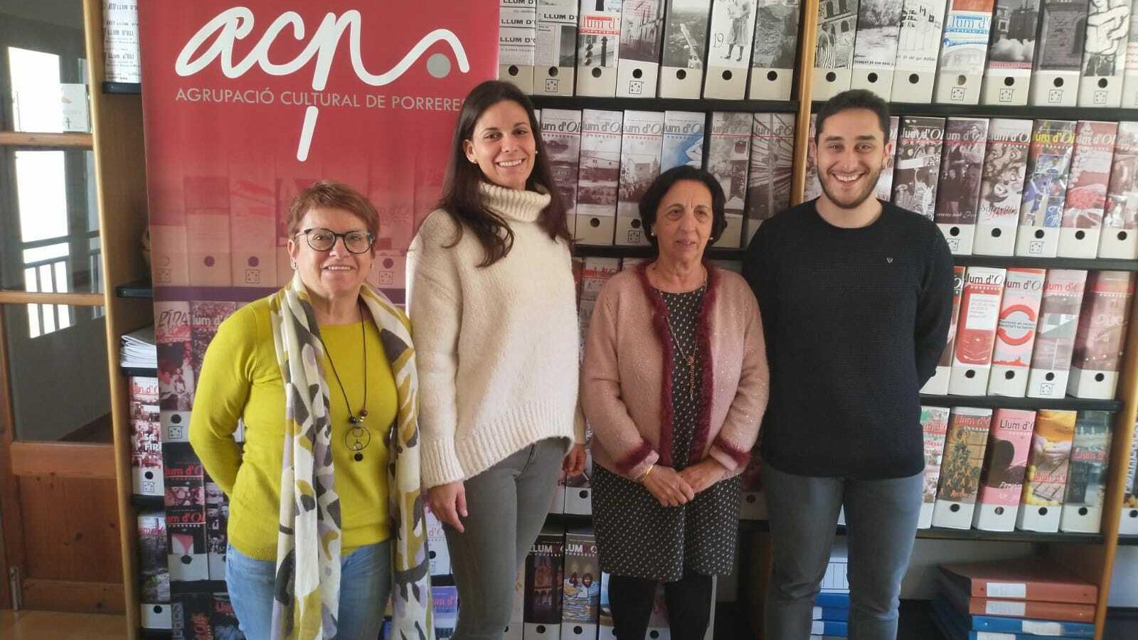 Joana Mora, Catalina M. Garí, Maria Barceló Crespí i Sebastià Lliteres.