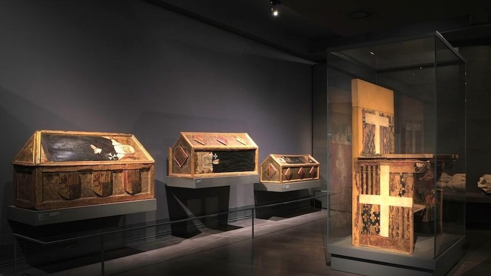 Sepulcres de Sixena al Museu de Lleida