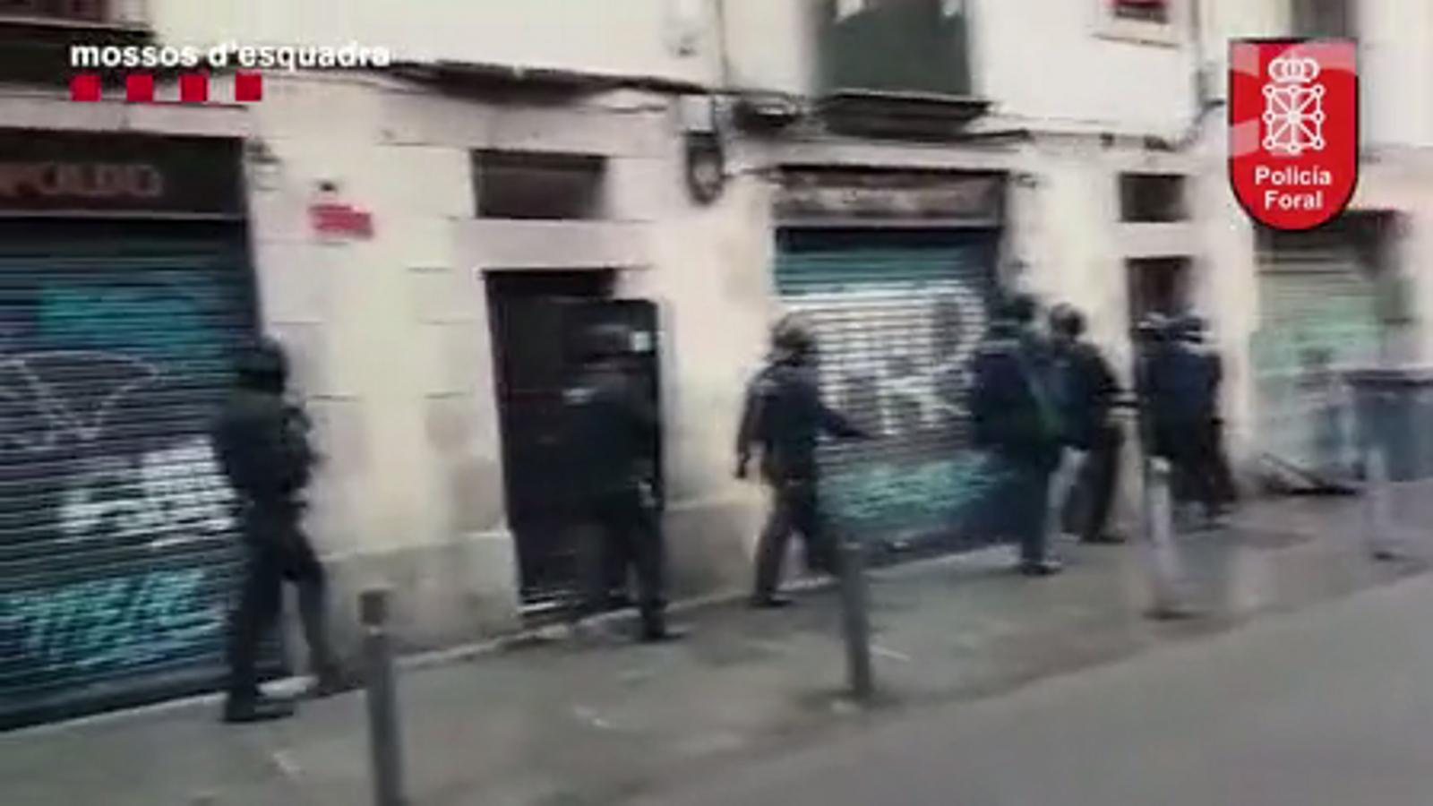 Escapçada una banda que robava a domicilis de Catalunya, Aragó i Navarra
