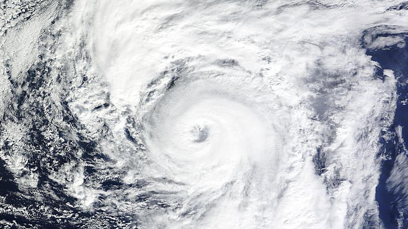 L'últim cop que un gran huracà va afectar els Estats Units no existia Twitter