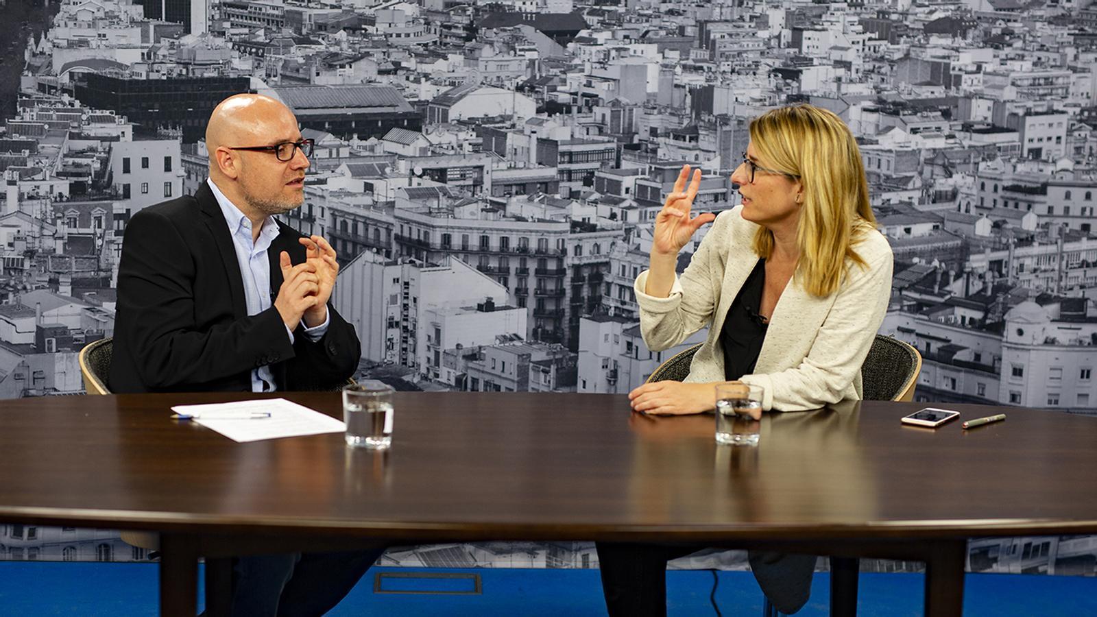 Entrevista de David Miró a Elsa Artadi