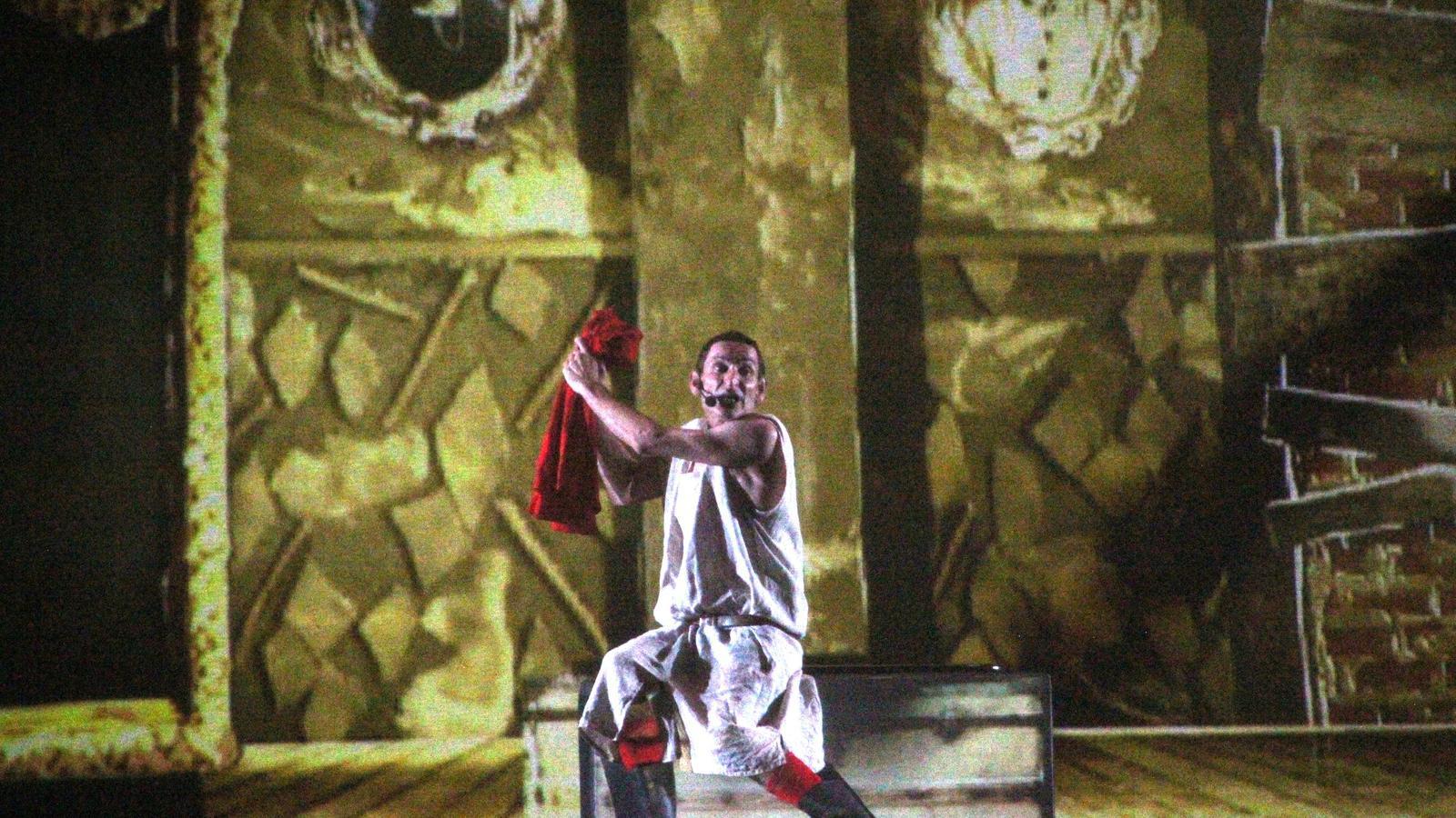 Albert Pla va portar el seu espectacle 'Miedo' al Porta Ferrada de Sant Feliu de Guíxols