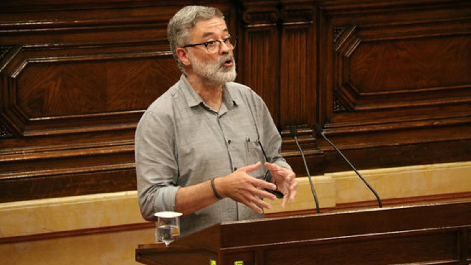"""La CUP reclamarà l'amnistia per als presos i exiliats i no l'indult perquè seria una """"evident contradicció política"""""""