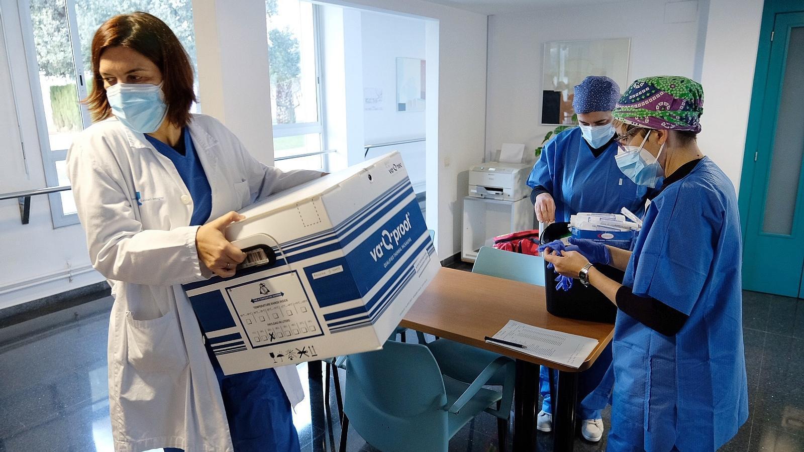 EN DIRECTE | Salut actualitza l'estat de la campanya de vacunació del covid-19