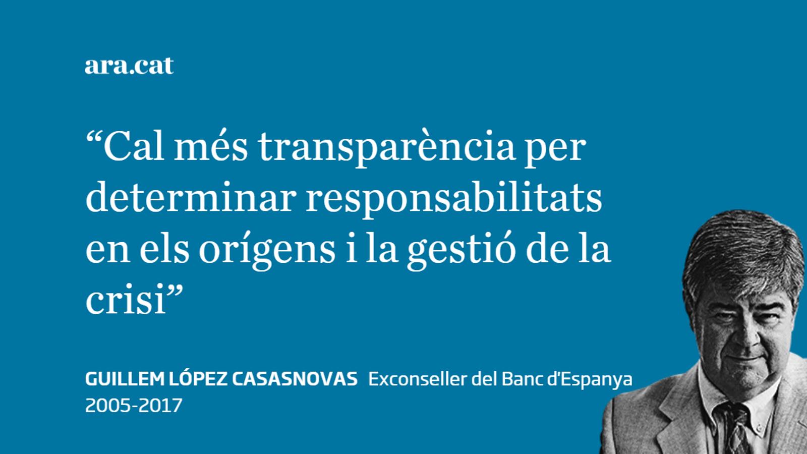 El Banc d'Espanya ha de publicar les actes