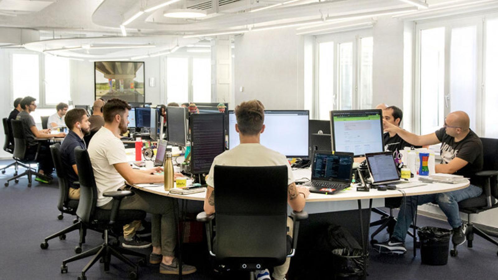 Imatge de les oficines d'Idealista, a Madrid