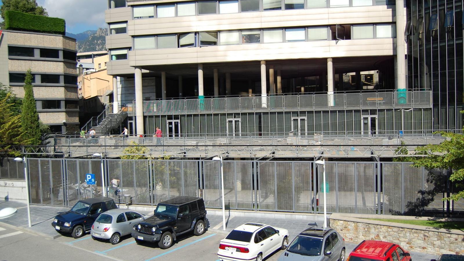 La façana del col·legi María Moliner a Escaldes-Engordany. / ARXIU ANA