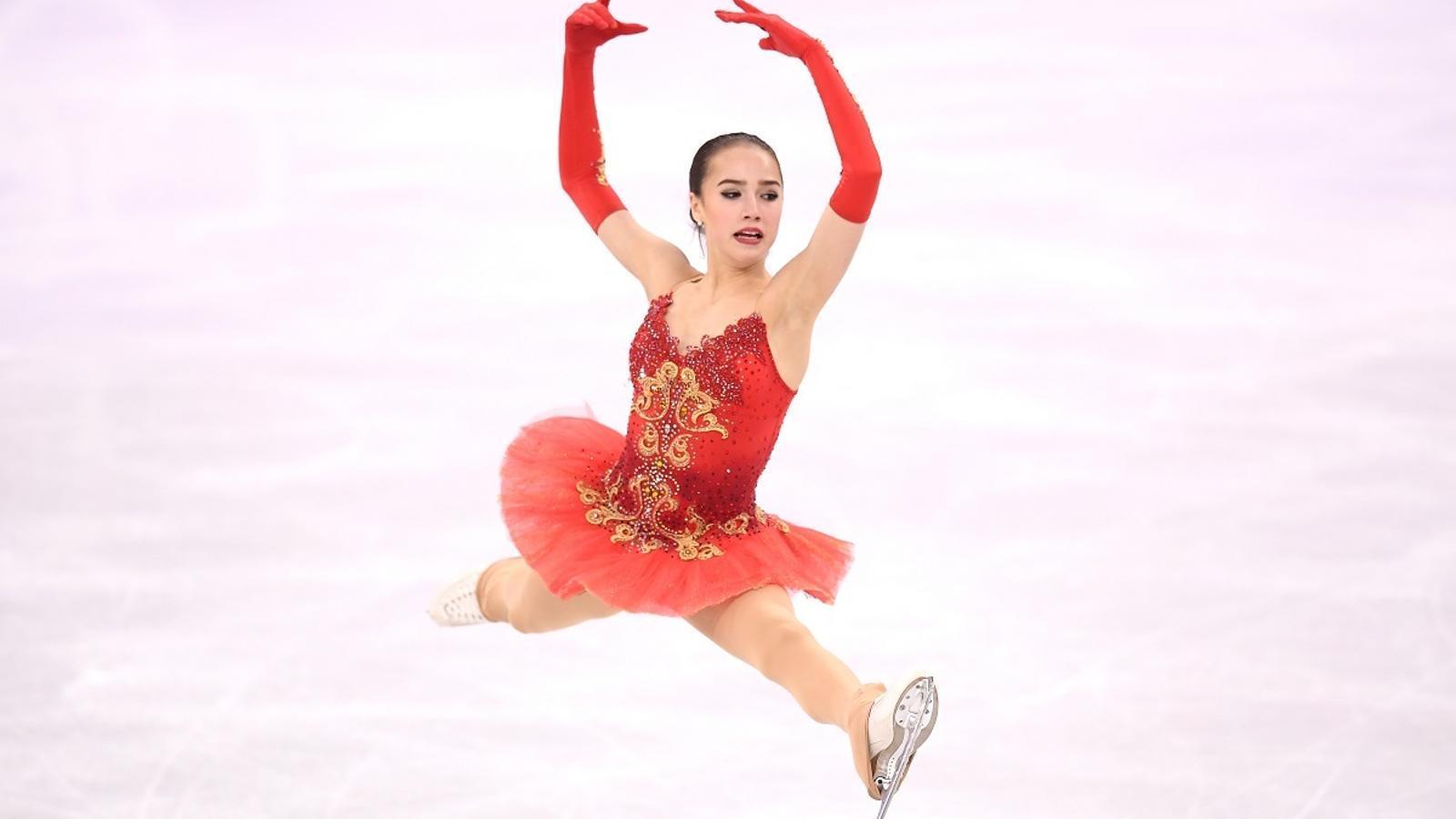 Alina Zagitova, als Jocs Olímpics de Pyeongchang