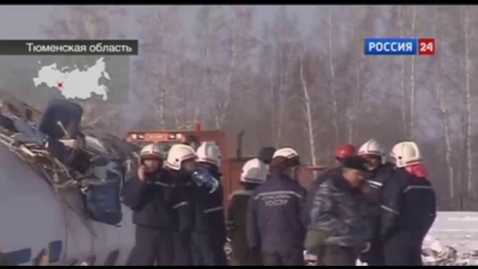 Un accident d'avió a Sibèria deixa un balanç d'almenys 31 morts