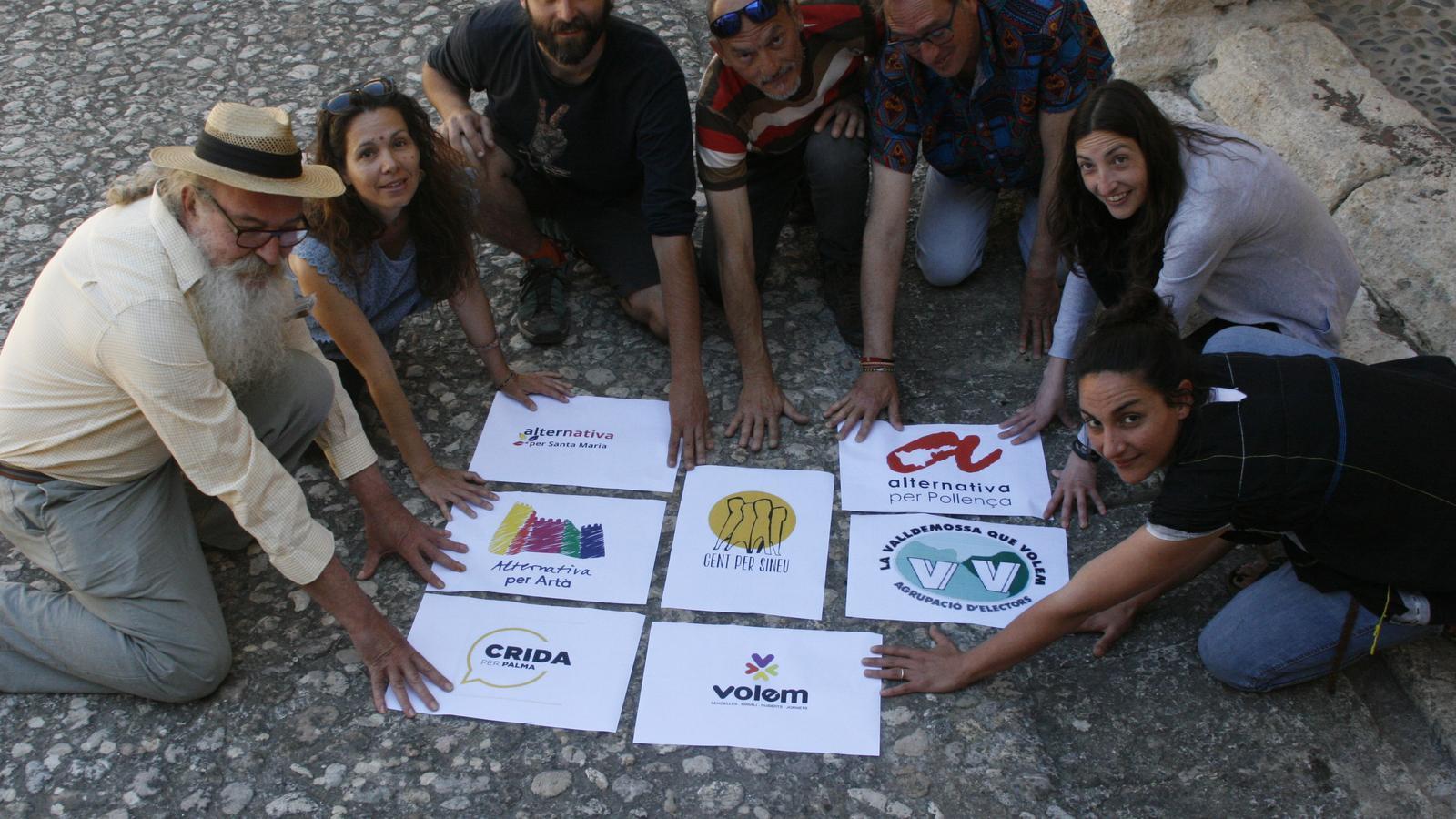 Per ara, set marques municipalistes han creat una xarxa.