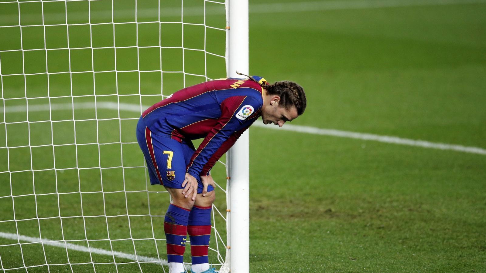 Griezmann no va aconseguir aprofitar dues ocasions clares de gol