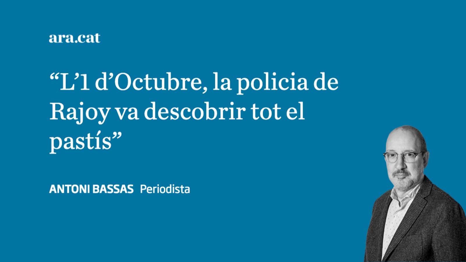 """Rajoy i """"l'escàndol organitzat"""" de l'1-O"""