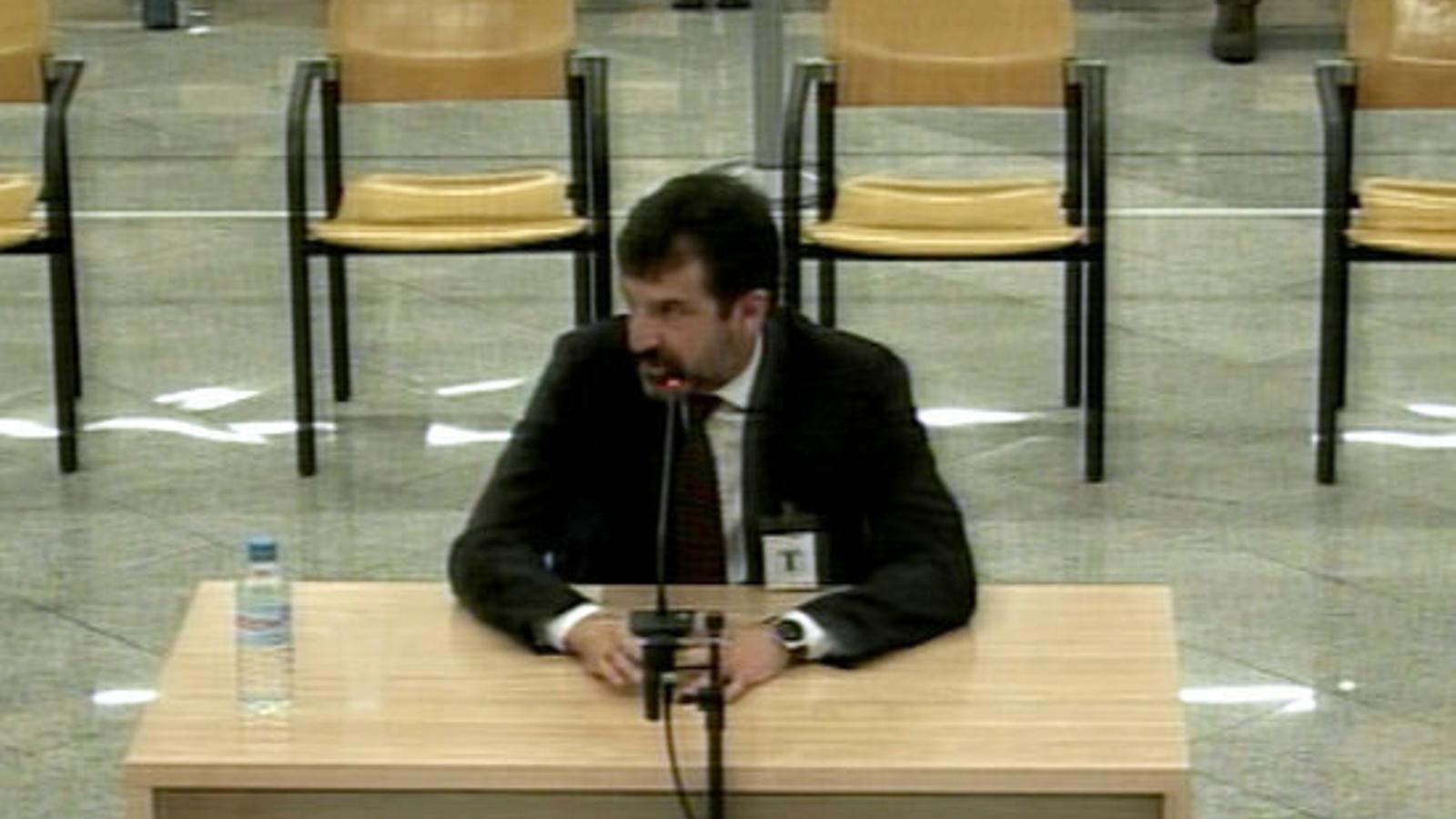 L'excomissari superior de Mossos Ferran López, declarant a l'Audiència Nacional