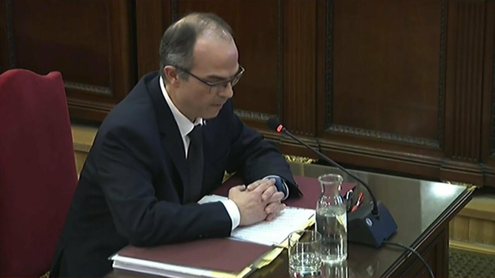 El fiscal pregunta a Turull si el conseller Jordi Baiget va advertir que el referèndum era il·legal