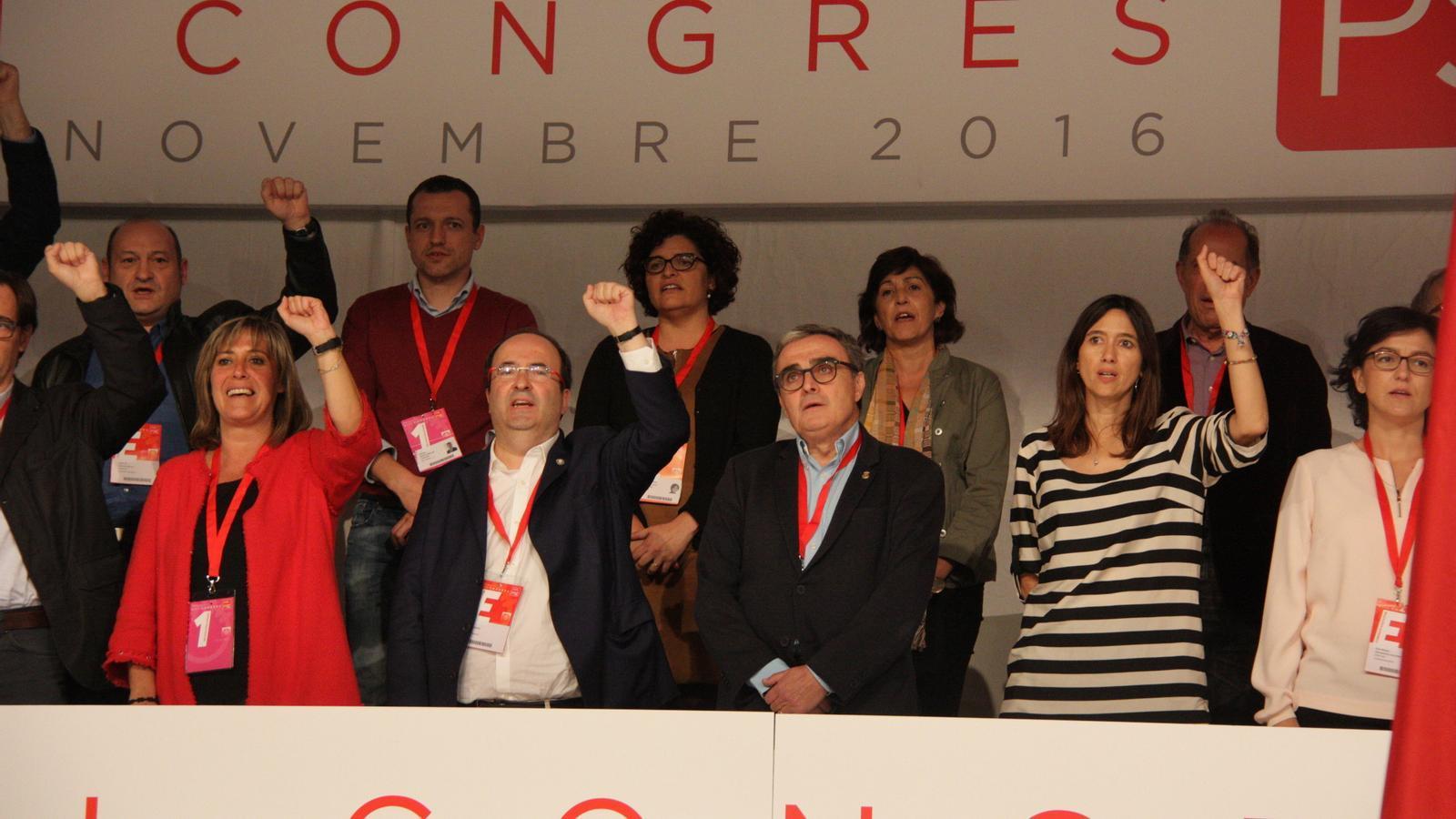 """El PSC aspira a ser el """"primer partit de Catalunya"""" fent bandera del federalisme"""
