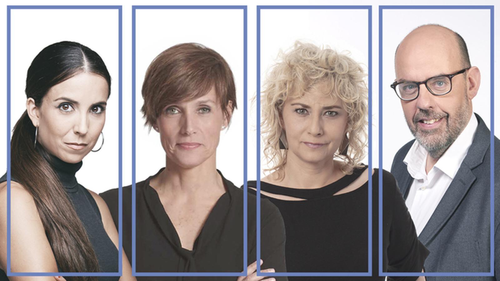 Laura Rosel, Raquel Sans, Mònica Terribas i Jordi Basté presentaran La Marató de TV3 pel covid-19
