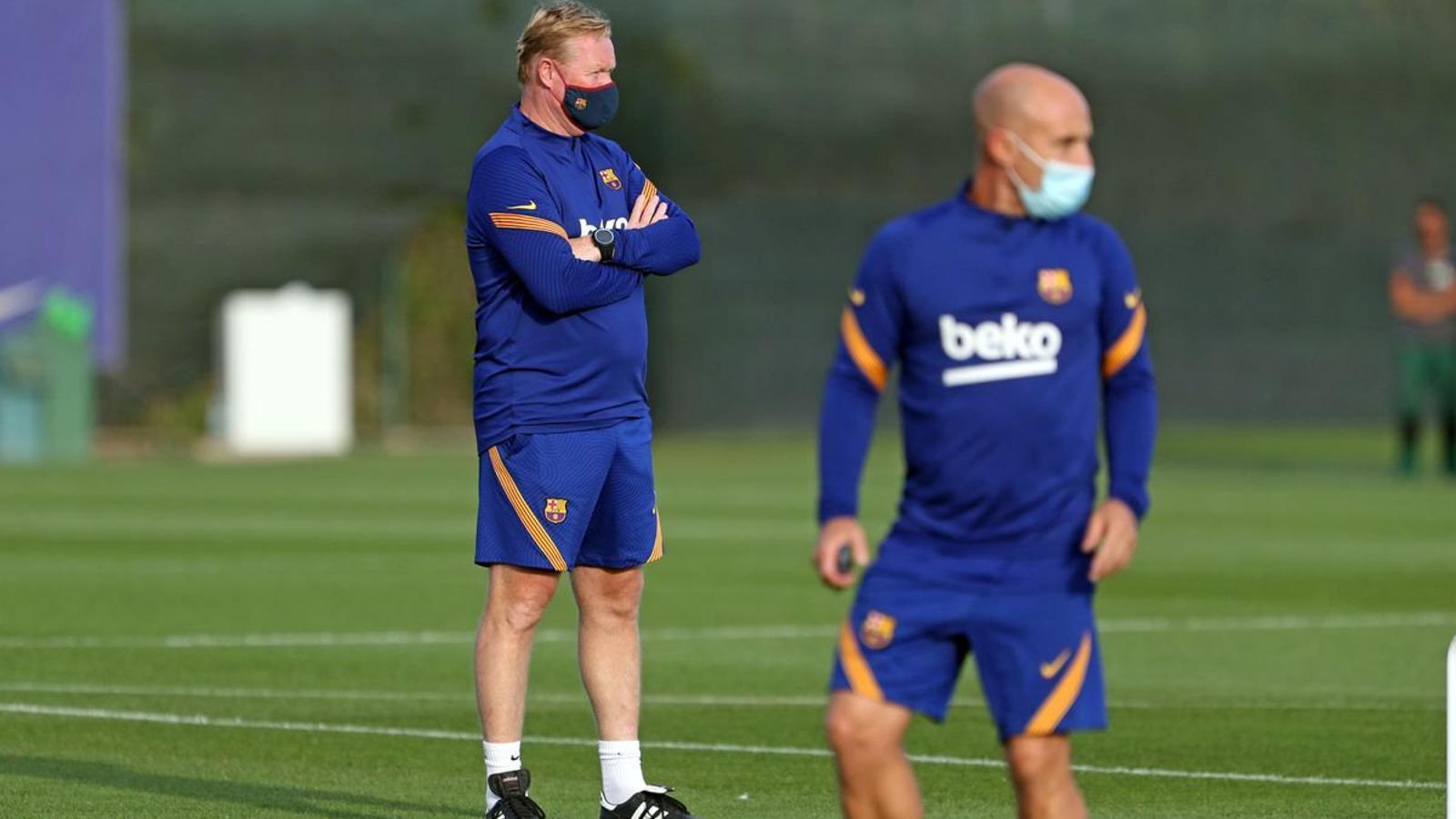 L'entrenador del Barça, Ronald Koeman, haurà de fer rotacions després que 13 jugadors del seu equip hagin estat amb les seves seleccions.