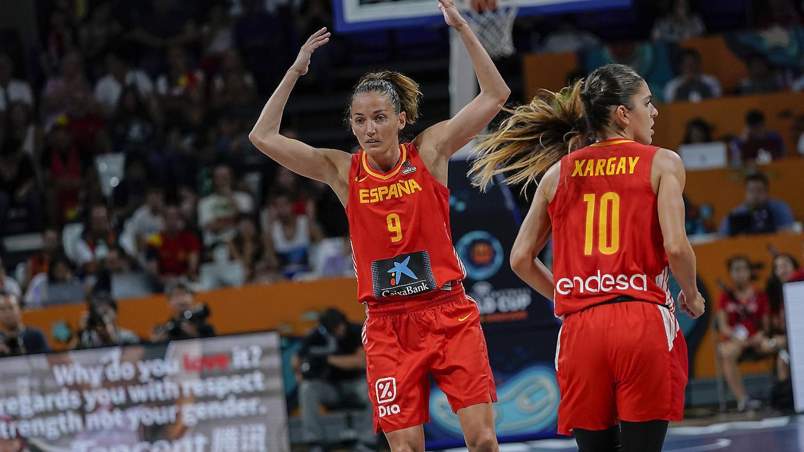 La barcelonina Laia Palau està concentrada aquests dies amb la selecció espanyola de bàsquet a Tenerife per disputar la Copa del Món.