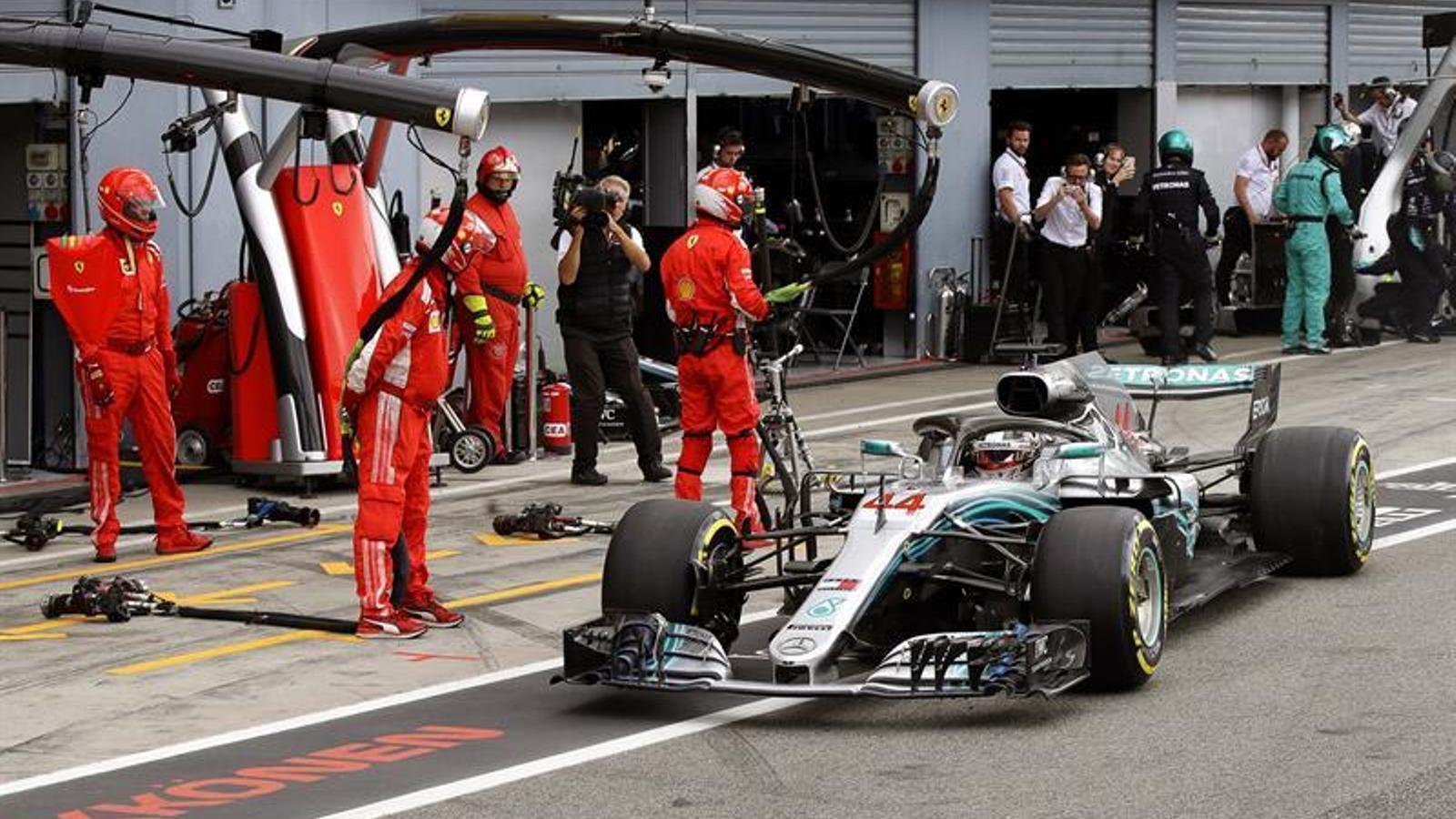 Lewis Hamilton talla les ales dels Ferrari i surt reforçat de Monza