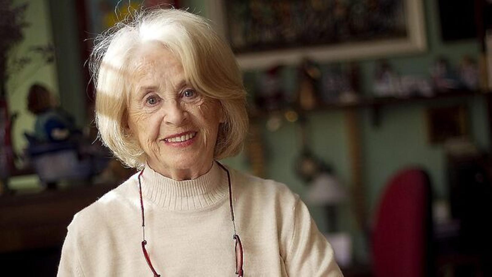 L'actriu Montserrat Carulla