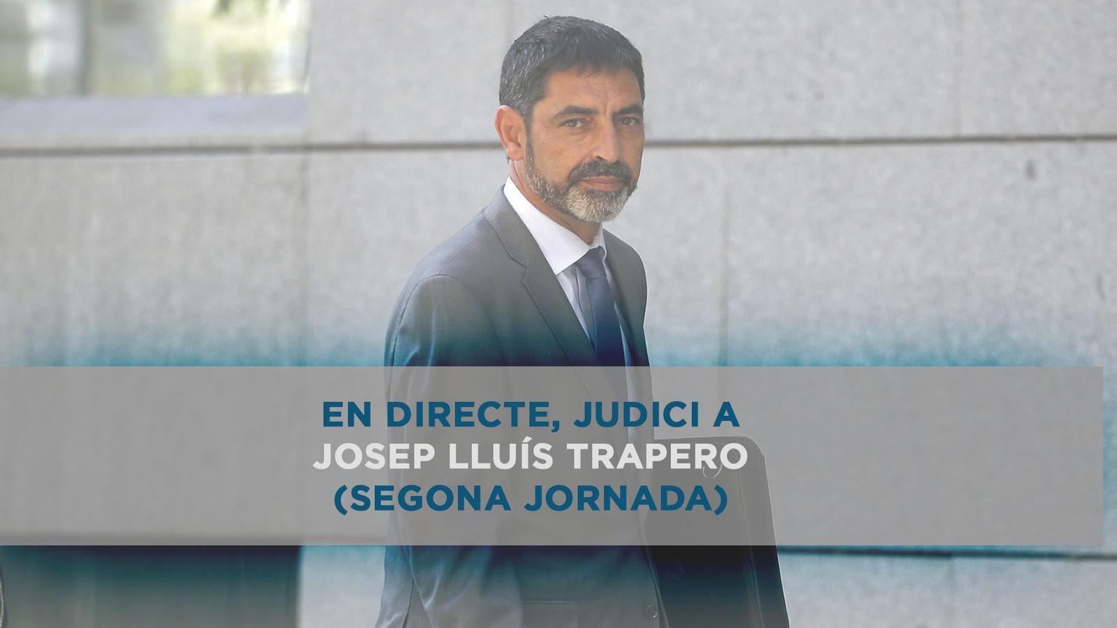 Judici a Trapero a l'Audiència Nacional (segona jornada)