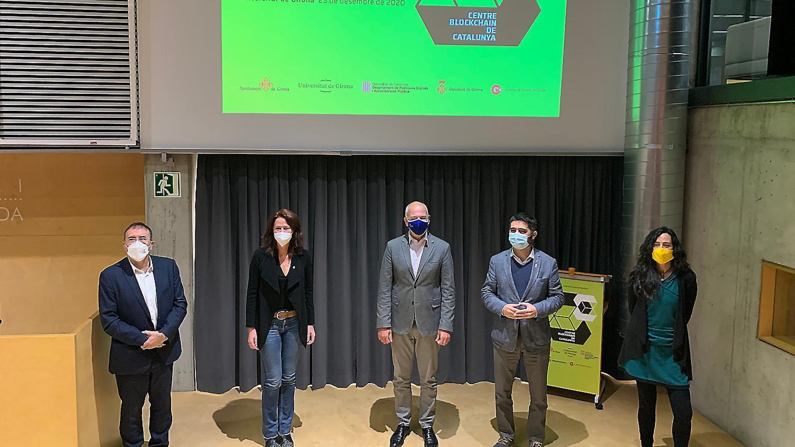 Girona serà la seu del Centre Blockchain de Catalunya